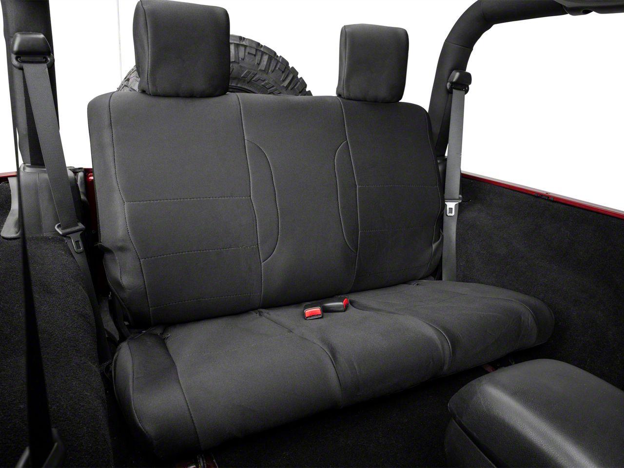 Smittybilt G.E.A.R Custom Fit Seat Cover - Rear (08-12 Jeep Wrangler JK 4 Door)