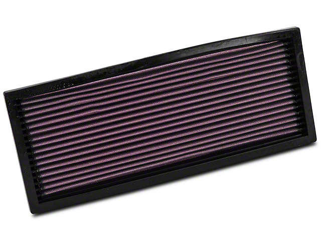 K&N Drop-In Replacement Air Filter (87-95 2.5L or 4.0L Jeep Wrangler YJ)