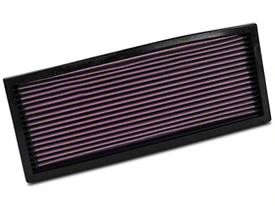 K&N Drop-In Replacement Air Filter (87-95 2.5L or 4.0L Wrangler YJ)