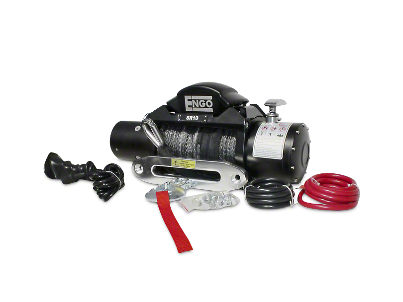 Engo SR Series 10,000 lb. Winch with Synthetic Rope