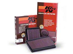 K&N Drop-In Replacement Air Filter (97-06 2.5L or 4.0L Jeep Wrangler TJ)