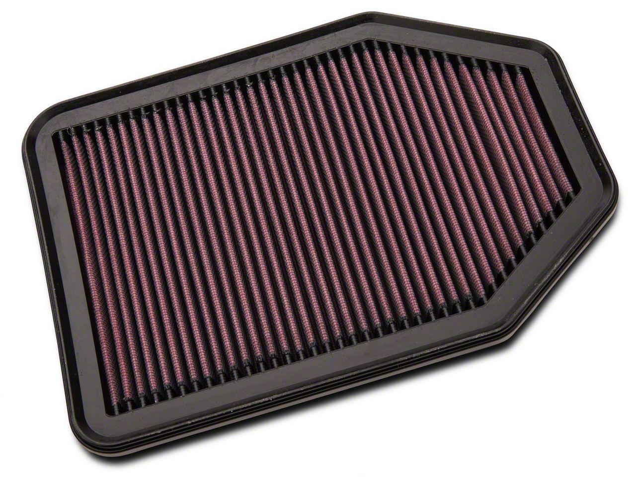 K&N Drop-In Replacement Air Filter (07-18 3.6L or 3.8L Jeep Wrangler JK)