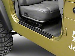Rugged Ridge All-Terrain Door Entry Guards (97-06 Jeep Wrangler TJ)