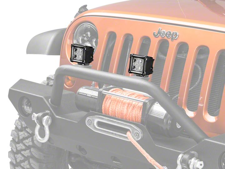 How to Install Rugged    Ridge    3 in Cube LED Light  Combo