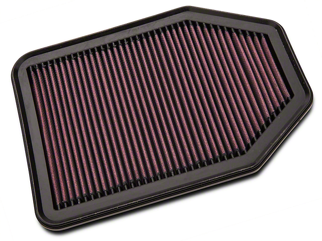 K&N Drop-In Replacement Air Filter (07-18 3.6L or 3.8L Jeep Wrangler JK)