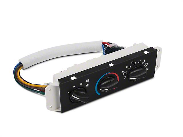 HVAC Control Panel (99-04 Jeep Wrangler TJ)