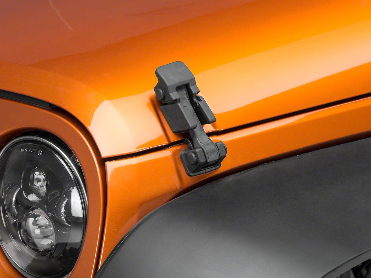 Omix-ADA Hood Catch Kit (07-18 Jeep Wrangler JK)