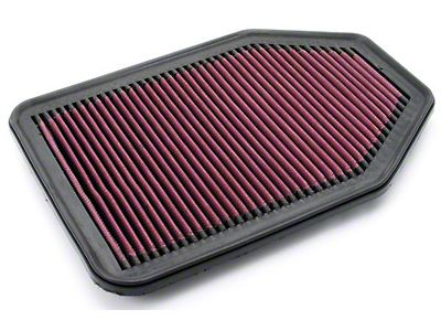 K/&N 33-2364 Direct-Fit Replacement Air Filter 2007-2017 Jeep Wrangler 3.6L 3.8L