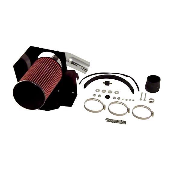 Rugged Ridge Aluminum Cold Air Intake - Polished (07-11 3.8L Wrangler JK)