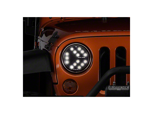 Luminix High Power LED Headlights (17-18 Jeep Wrangler JK w/ LED Headlights)