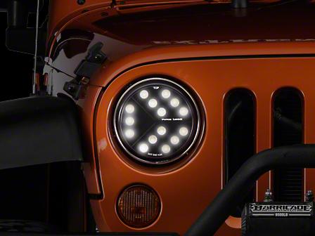 Putco Luminix High Power LED Headlights (17-18 Wrangler JK w/ LED Headlights)