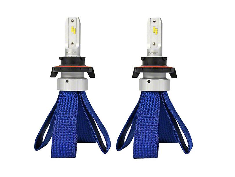 Nitro-Lux Headlight LED Bulbs with Anti-Flicker Harness; H13 (04-08 F-150; 09-14 F-150 w/ Halogen Headlights)