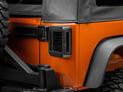 Raxiom LED Tail Lights - Smoked (07-17 Wrangler JK)