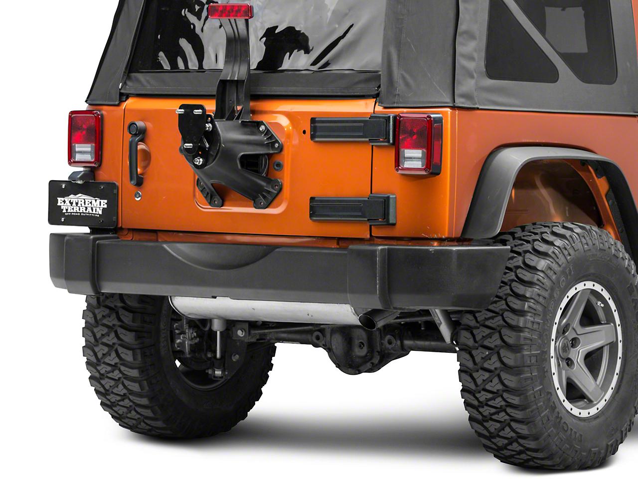 SkyJacker Spare Tire Relocation Kit (07-18 Jeep Wrangler JK)