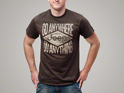 Jeep Go Anywhere, Do Anything T-Shirt