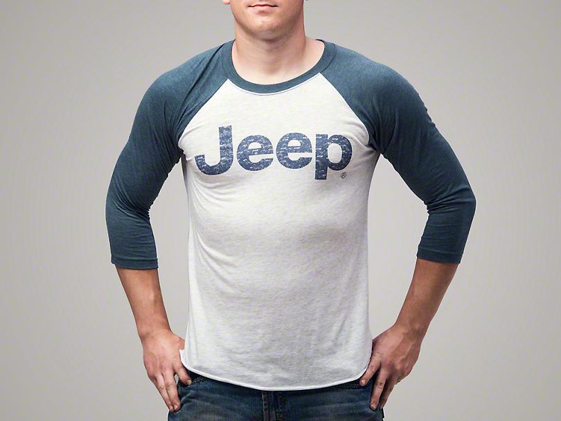 Jeep Three-Quarter Sleeve Raglan T-Shirt
