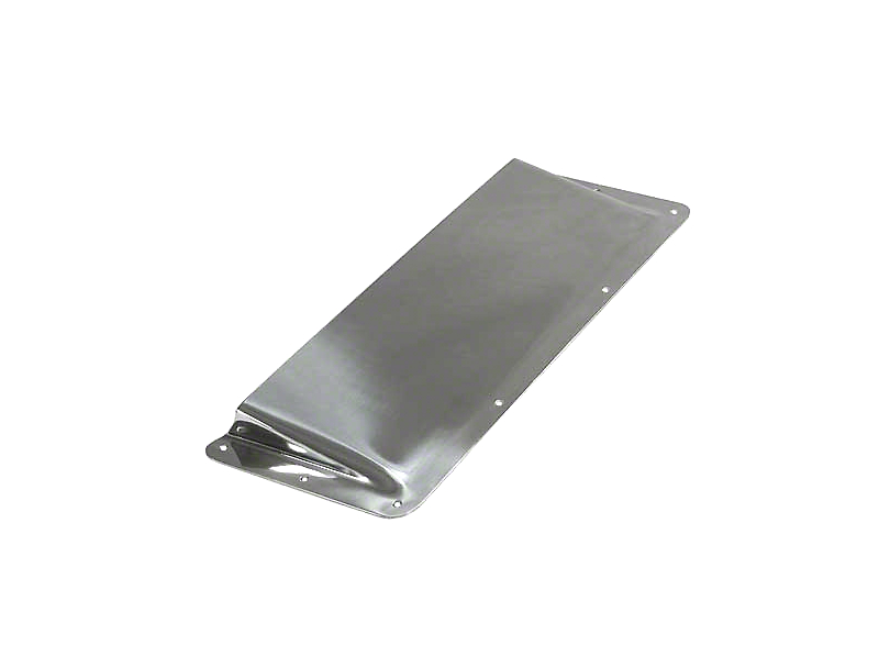 Rugged Ridge Air Scoop - Stainless Steel (87-95 Jeep Wrangler YJ)
