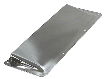 Rugged Ridge Air Scoop - Stainless Steel (87-95 Wrangler YJ)
