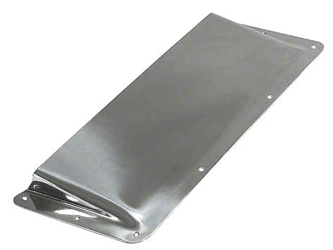 Rugged Ridge Air Scoop - Stainless Steel (87-95 Wrangler YJ)