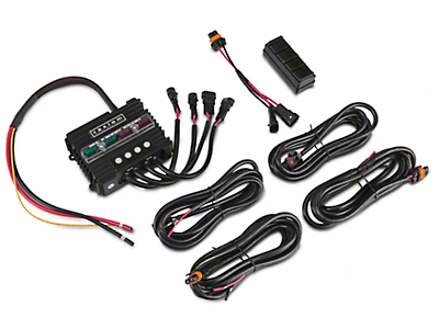Raxiom Bluetooth Light Switch & Accessory Controller (87-19 Jeep Wrangler YJ, TJ, JK & JL)