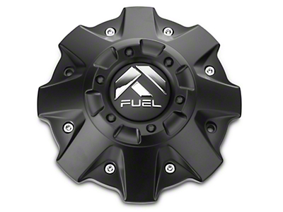 Fuel Wheels Black Center Cap (87-18 Wrangler YJ, TJ & JK)