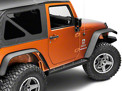 Kargo Master Rocker Walk Side Steps (07-17 Wrangler JK 2 Door)