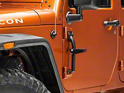 Hinge Steps - Pair (07-18 Jeep Wrangler JK)