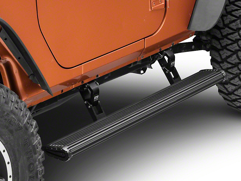 Amp Research PowerStep Xtreme Running Boards (07-18 Wrangler JK 2 Door)