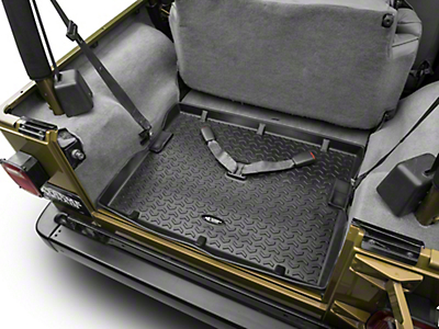 Rugged Ridge All Terrain Cargo Liner - Black (97-06 Wrangler TJ)