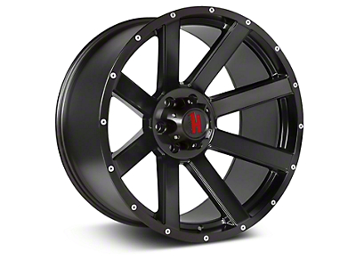 Havok Off-Road H-107 Matte Black Wheel - 20X9 (07-18 Wrangler JK; 2018 Wrangler JL)
