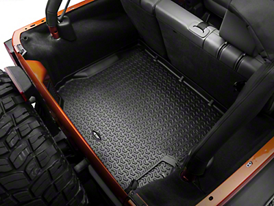 Rugged Ridge All Terrain Cargo Liner - Black (07-10 Jeep Wrangler JK)