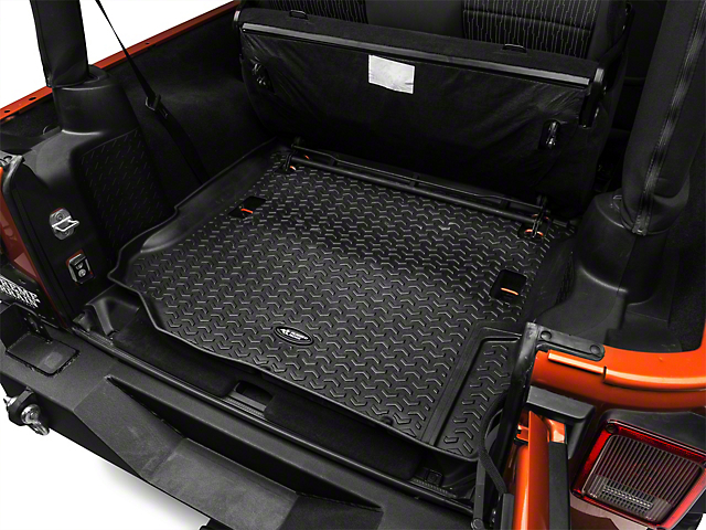Rugged Ridge All-Terrain Cargo Liner; Black (11-18 Jeep Wrangler JK)