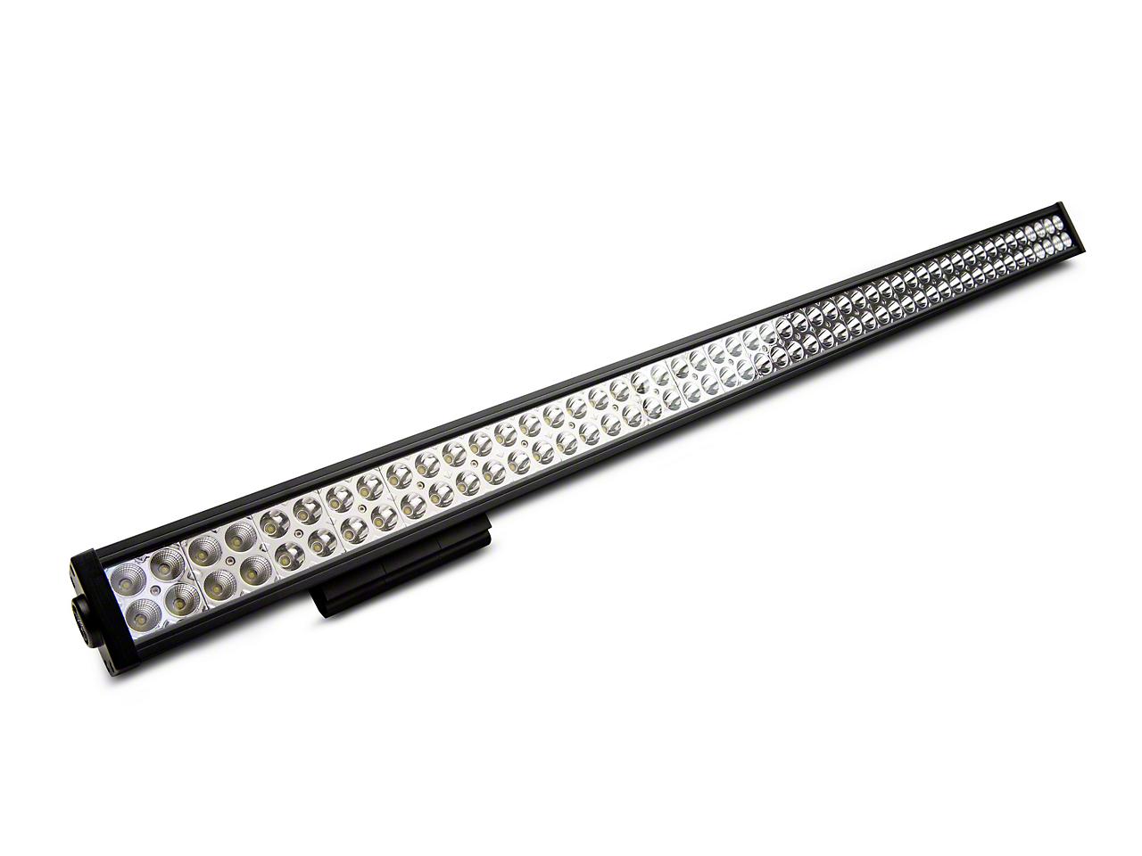 DV8 Off-Road 50 in. Chrome Series LED Light Bar - Flood/Spot Combo