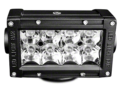 DV8 Off-Road 5 in. Chrome Series LED Light Bar - Flood/Spot Combo (87-18 Wrangler YJ, TJ & JK)