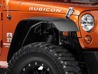 Rugged Ridge A/T Fender Liner Kit, 4 Pieces w/ Hardware (07-18 Jeep Wrangler JK)
