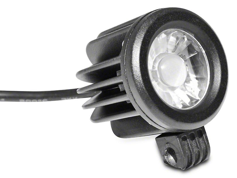 DV8 Off-Road 2-Inch Round LED Light; Spot Beam