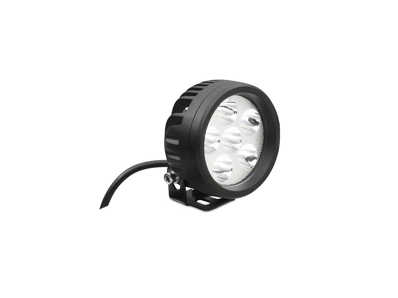 DV8 Off-Road 3.5 in. Round LED Light - Spot Beam (87-18 Wrangler YJ, TJ & JK)