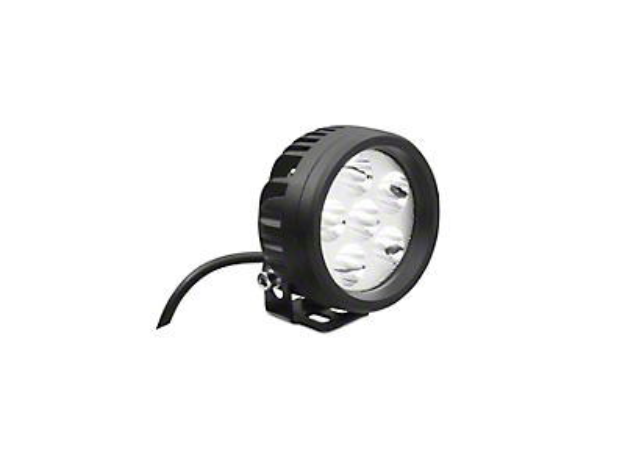 DV8 Off-Road 3.5 in. Round LED Light - Spot Beam (87-18 Wrangler YJ, TJ, JK & JL)