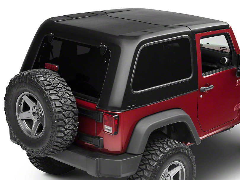 dv8 off road jeep wrangler ranger fastback hard top ht07fb22 07 18 jeep wrangler jk 2 door. Black Bedroom Furniture Sets. Home Design Ideas