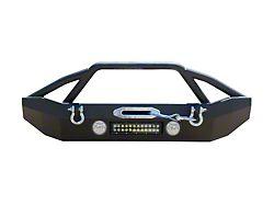 DV8 Off-Road FS-14 Hammer Forged Mid Width Front Bumper (07-18 Jeep Wrangler JK)