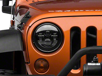 DV8 Off-Road LED Projector Headlights (07-18 Wrangler JK)