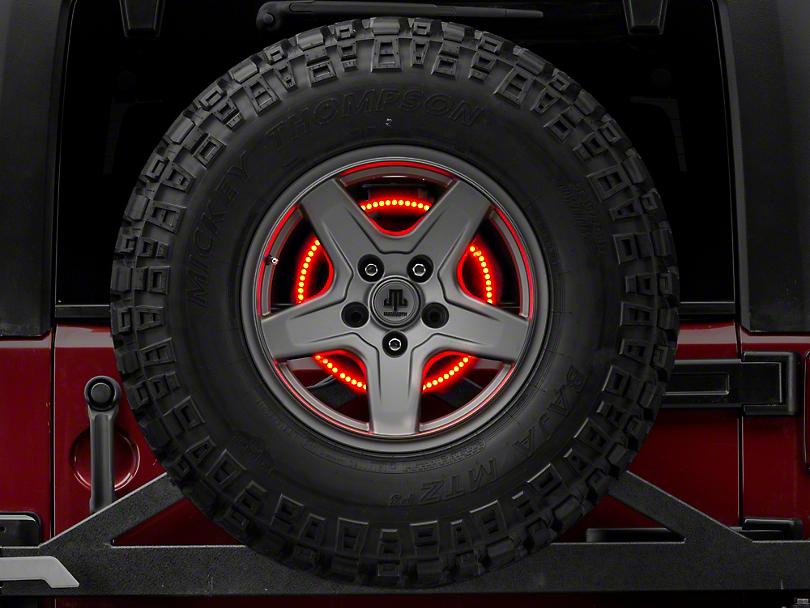 Rugged Ridge Accessory Brake Light LED Ring (87-18 Wrangler YJ, TJ, JK & JL)