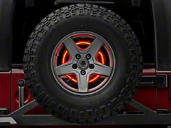 Rugged Ridge Accessory Brake Light LED Ring (87-18 Jeep Wrangler YJ, TJ & JK)