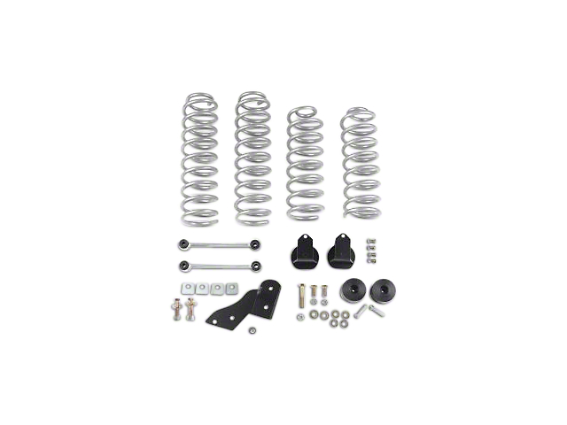 Rubicon Express Jeep Wrangler 2.5 in. Standard Coil Lift