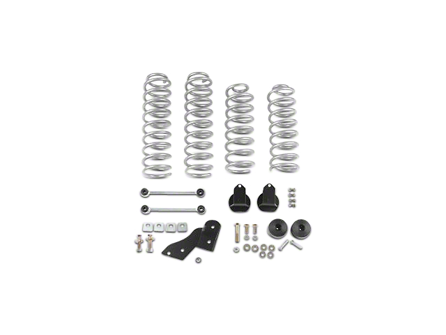 Rubicon Express 2.50-Inch Standard Coil Spring Suspension Lift Kit (07-18 Jeep Wrangler JK 4 Door)