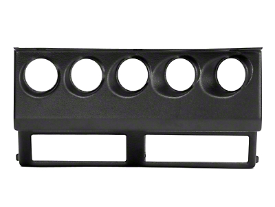 Auto Meter Direct Fit Gauge Cluster Bezel (87-95 Wrangler YJ)