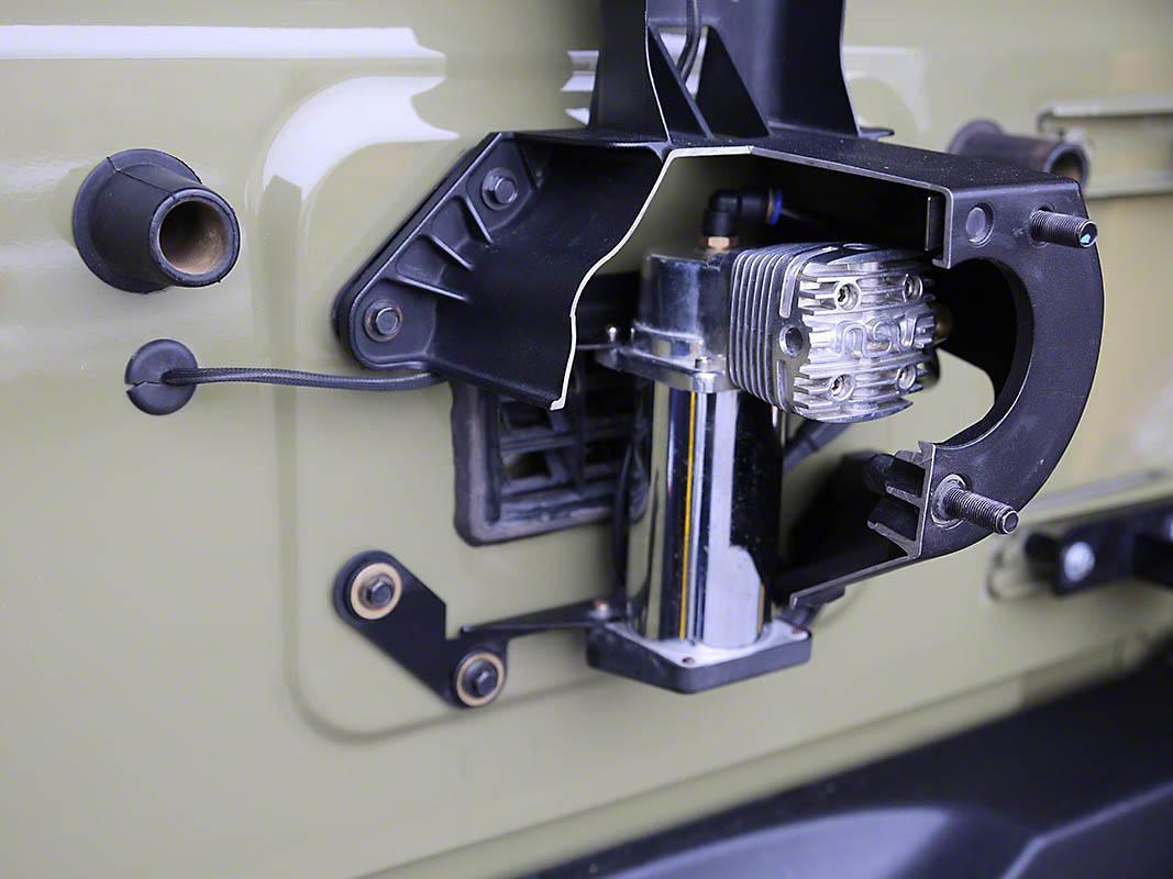 Cliffride Integrated Compressor Tire Carrier System (07-18 Wrangler JK)