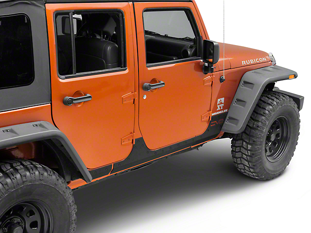 DV8 Off-Road Steel Rock Skins (07-18 Jeep Wrangler JK)