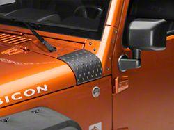 RedRock 4x4 Cowl Body Armor - Textured Black (07-18 Jeep Wrangler JK)