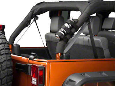 RedRock 4x4 Roll Bar Fire Extinguisher Mount (07-18 Wrangler JK)